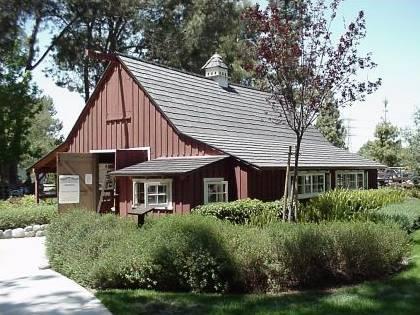 walt disney's barn
