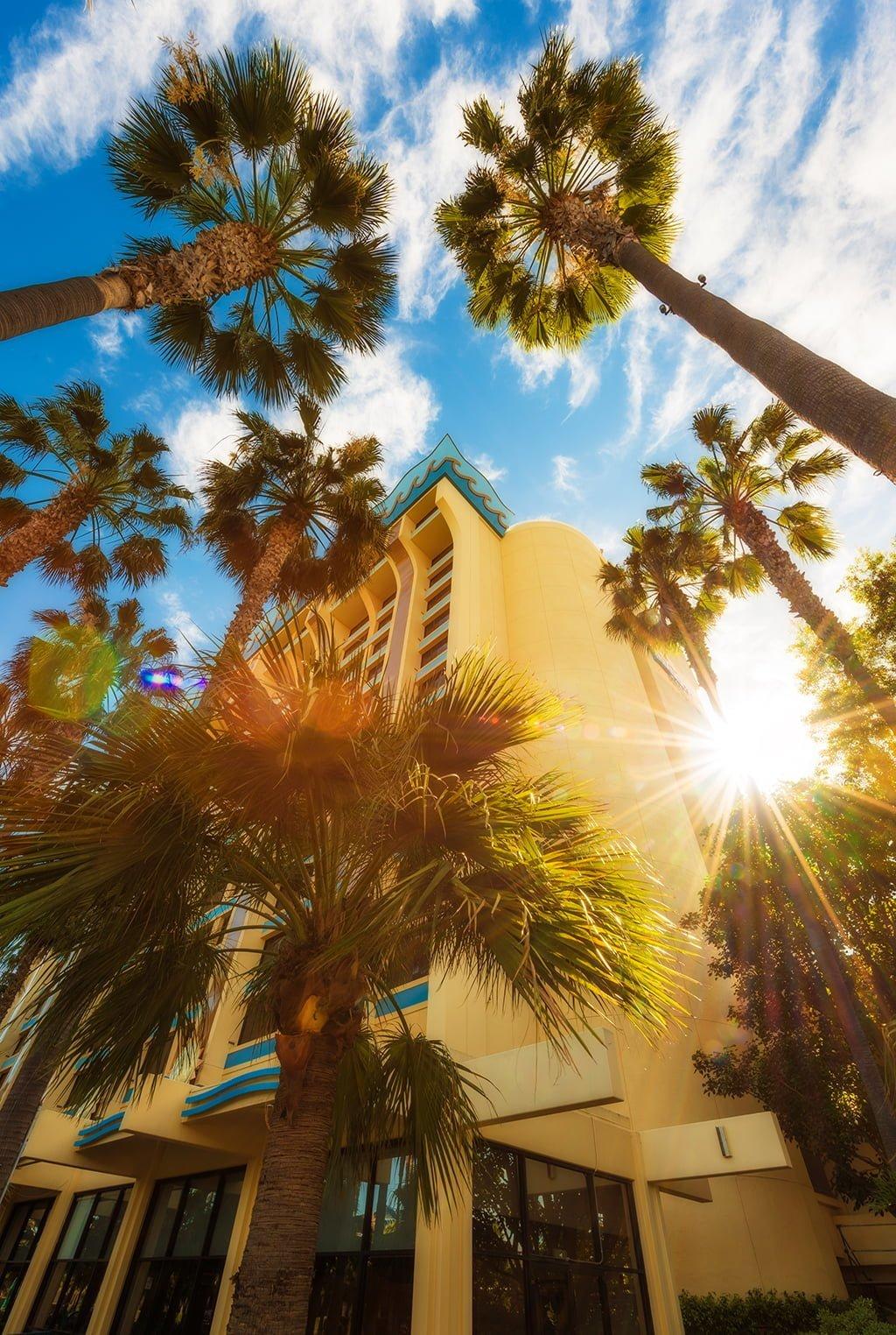 disneyland paradise pier hotels