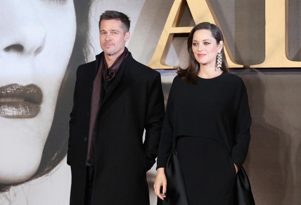 Brad Pitt Allied Red Carpet