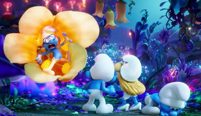 smurfs the lost village movie