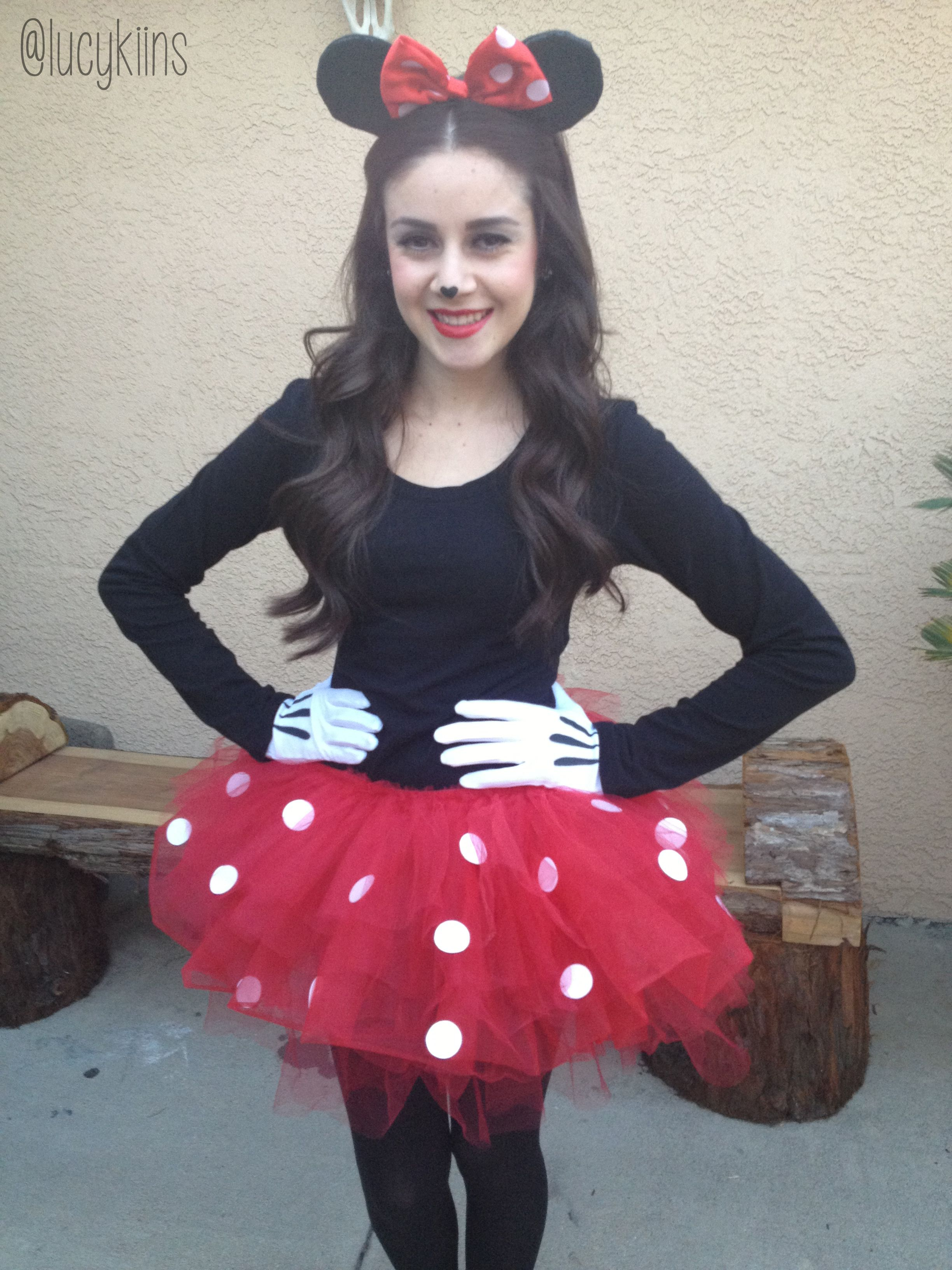 diy minnie mouse costume women