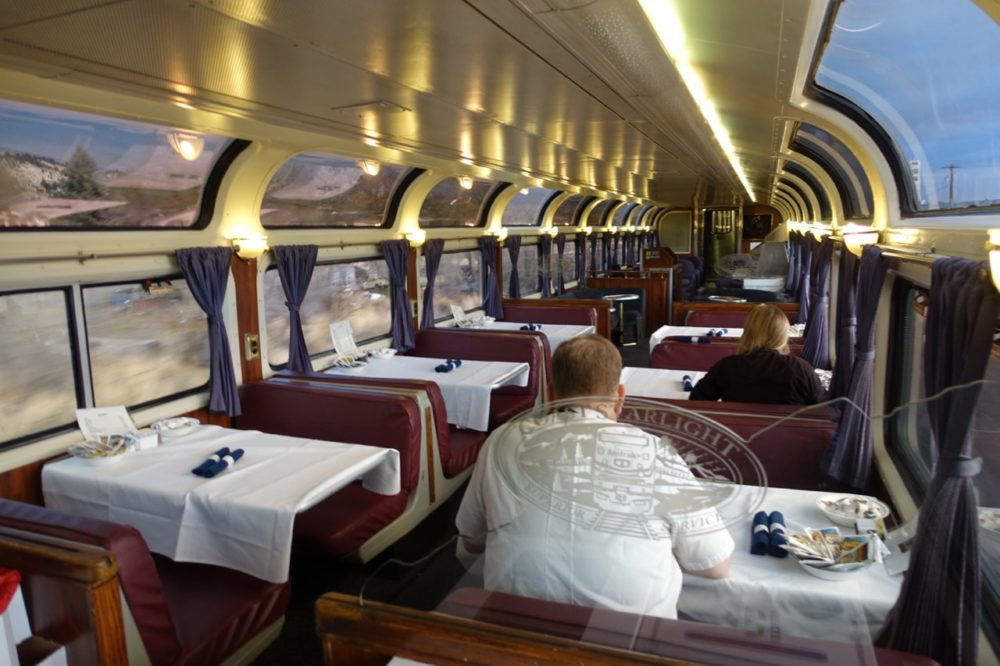 pacific car dining