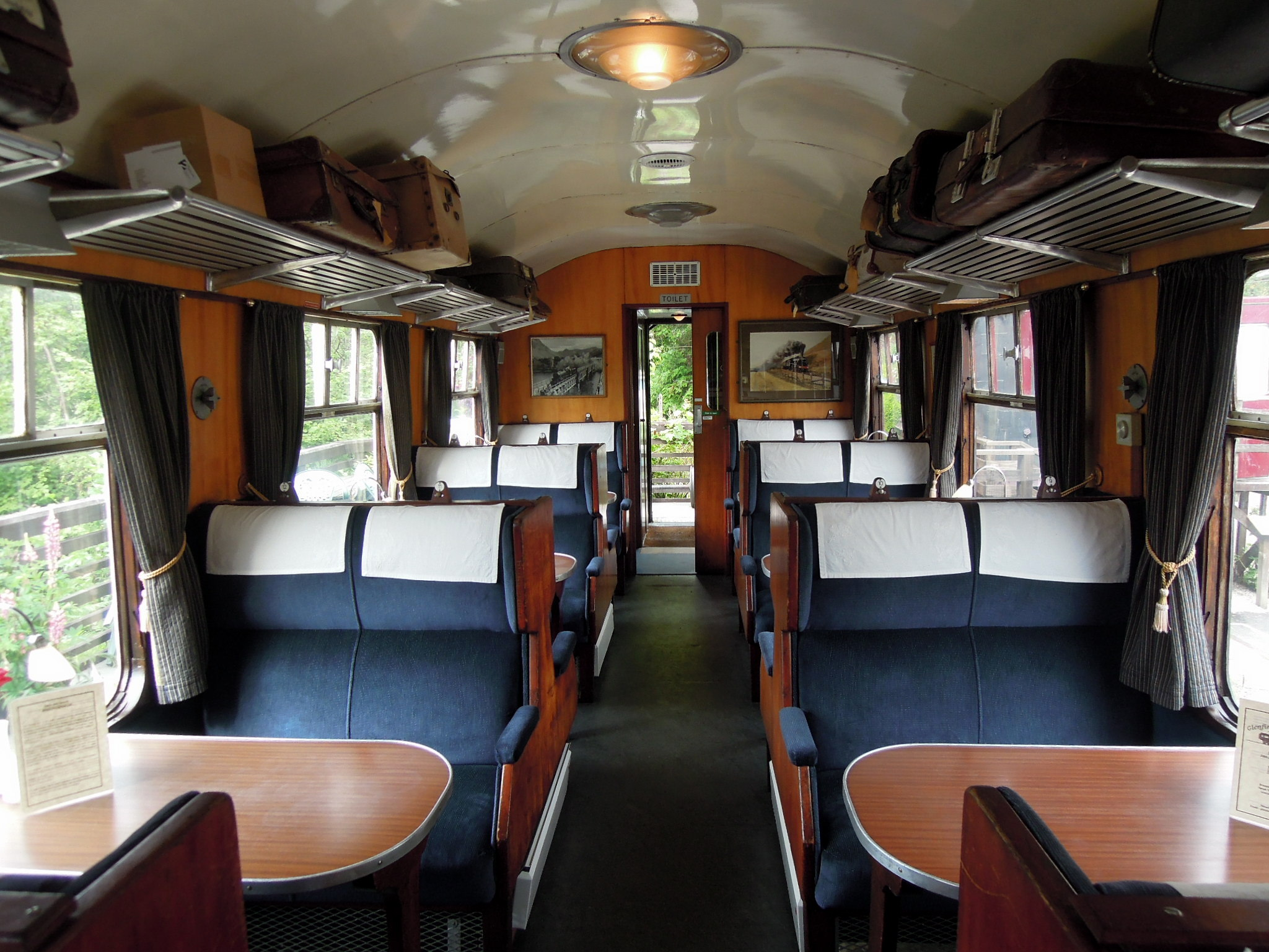 pacific dining car reviews