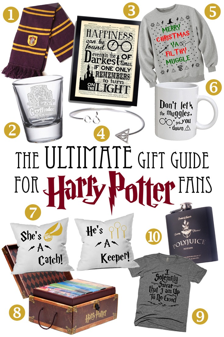 unique gifts harry potter fans